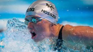 Hosszu夺得第三名 Burian完成仰泳帽子戏法